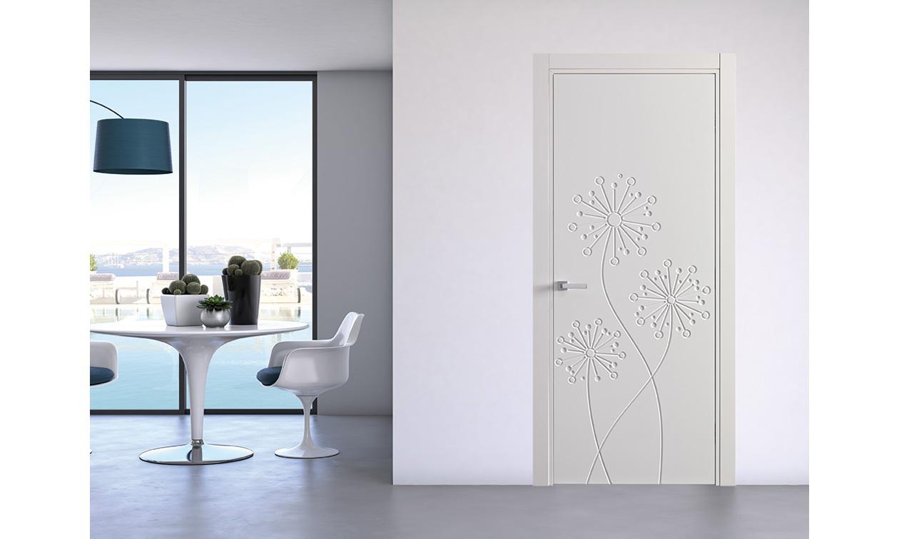 Emejing porte interne bianche moderne images for Porte moderne